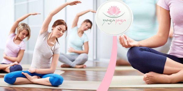 5 lekcí jógy v Yogajoga – výběr z mnoha stylů