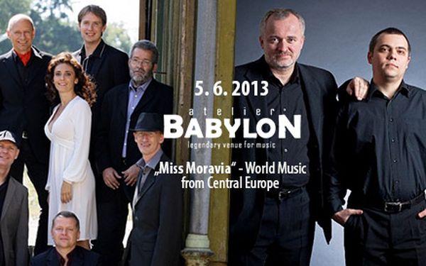 Koncert Miss Moravia