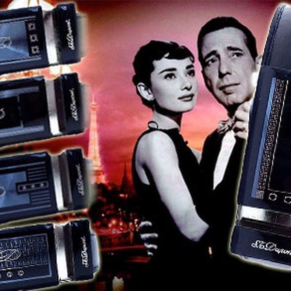 Pánský kožený opasek francouzské značky s.t. Dupont paris z hovězí kůže s automatickým zapínáním za 399,-kč včetně poštovného!,