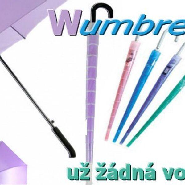 Wumbrella - deštník bez odkapávání