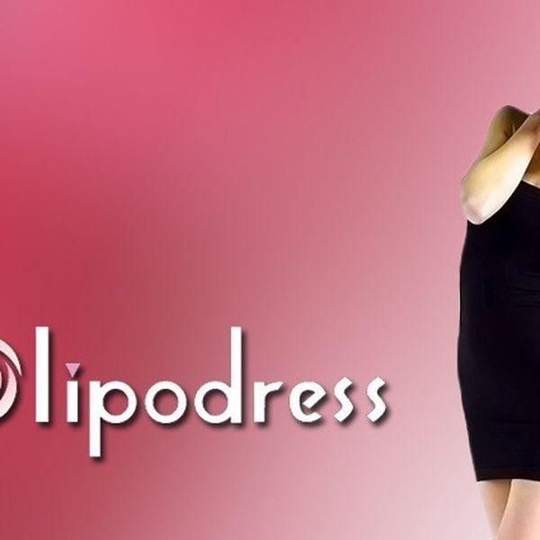 Jedinečné zeštíhlujicí šaty Lipodress na zpevnění celého těla