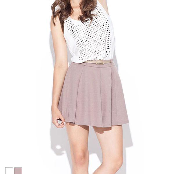 Nařasená sukně