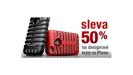Nakupte za polovic! Sleva 50 % na designové kryty pro Váš iPhone 4 / 4S.