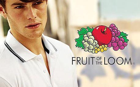 Pánské polo tričko Fruit of the Loom – 6 barev