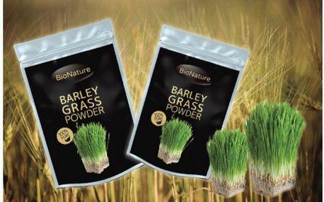 Dostaňte své tělo do formy s oblíbeným doplňkem stravy - BIO zeleným ječmenem z Velké Británie za báječných 349 Kč!