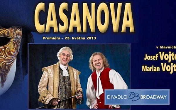 Muzikál Casanova v divadle Broadway
