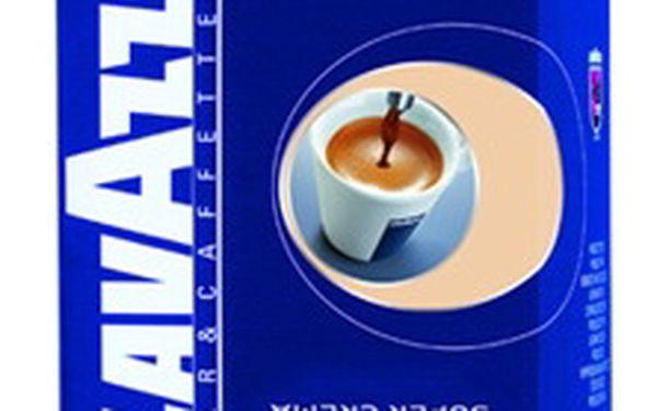 Káva Lavazza Super Crema - 1kg. Káva vysoké jakosti s pevnou a bohatou pěnou.