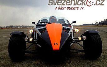 Adrenalinová jízda ve voze ARIEL ATOM 3 se slevou 68 %!