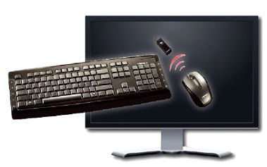 Zbavte se překážejících kabelů pomocí multimediální bezdrátové klávesnice s myší za pouhých 339 Kč. Dosah až 10 metrů!