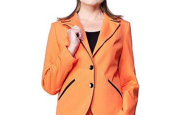 Oranžové sako