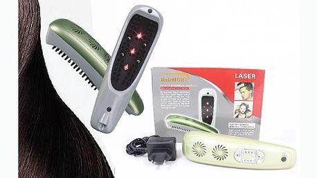Pouhých 1849 Kč za certifikovaný laserový hřeben pro krásu a pevnost vašich vlasů se slevou 69%! Zastavte vypadávání vlasů, obnovte jejich růst a mějte krásnou lesklou hřívu.