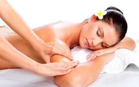 90min. relaxace Happy Body - 3 typy masáží a termo zábal