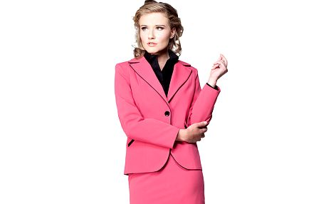Růžové sako