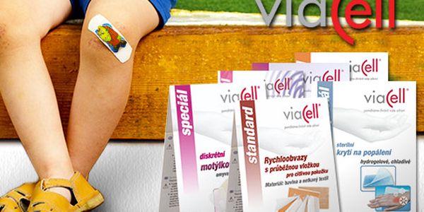 Praktické dětské náplasti Viacell