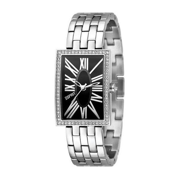 Dámské hodinky Esprit stříbrné hranatý ciferník