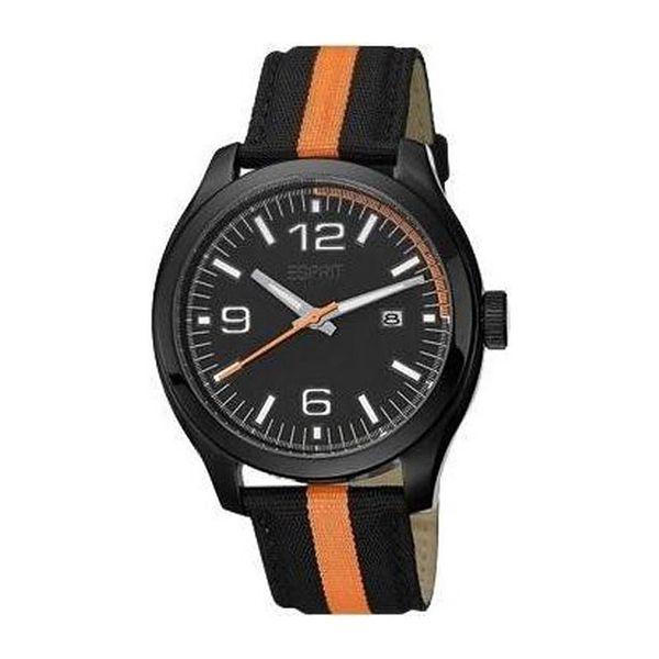 Unisex hodinky Esprit Race černo-oranžové