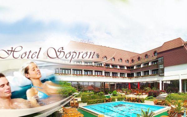3 DNY pro 2 osoby v hotelu Šopron**** v Maďarsku včetně bohaté POLOPENZE jen za 3 490 Kč! ZDARMA whirpool, finská sauna, infra sauna, fitness a v létě bazén! Relaxace, wellness i aktivní odpočinek! Platnost voucheru 1 rok!