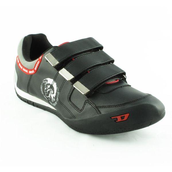 Pánské boty Diesel černo-červené