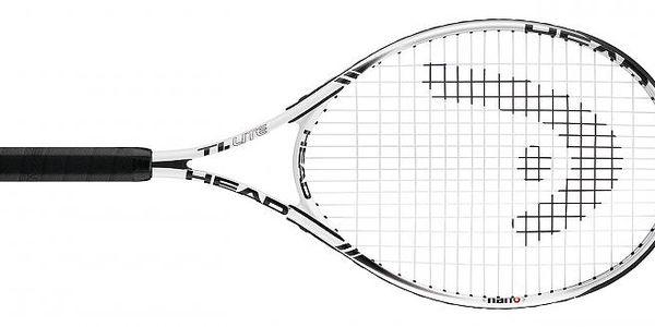 Vynikající tenisová raketa snejnovějšími technologiemi Head Nano Ti.Lite Bílá L3