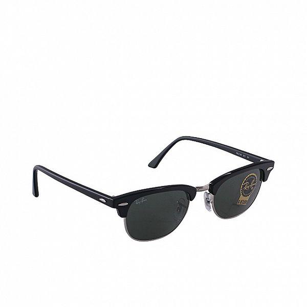 Černé sluneční retro brýle Ray-Ban