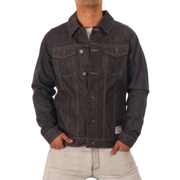 Pánska šedá džínsová bunda Zoo York