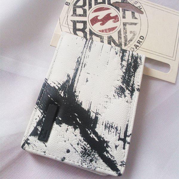 Pánská černo-bílá peněženka Strike