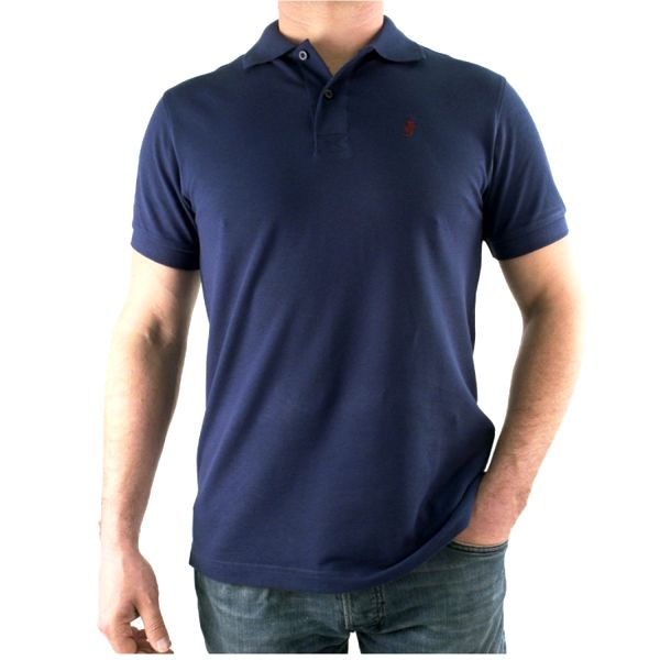 Pánské polo triko Marlboro Classics tmavě modré