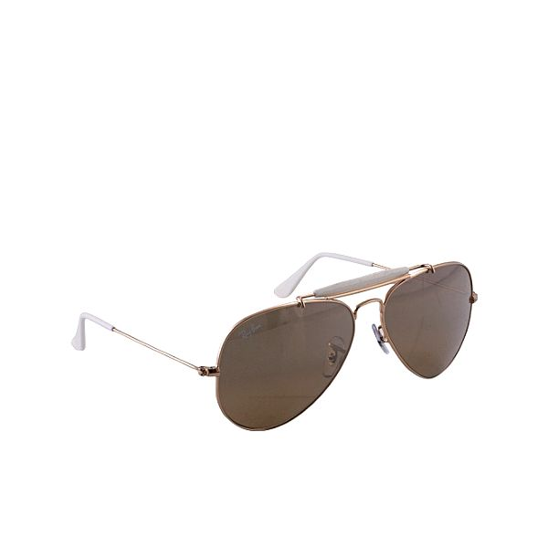 Hnedo-zlaté slnečné okuliare Ray-Ban
