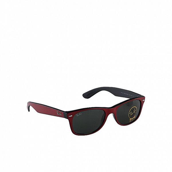 Červeno-černé sluneční brýle Ray-Ban