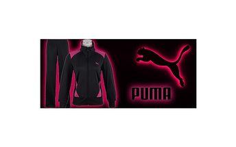 Dámská tepláková souprava Puma fialová model 2