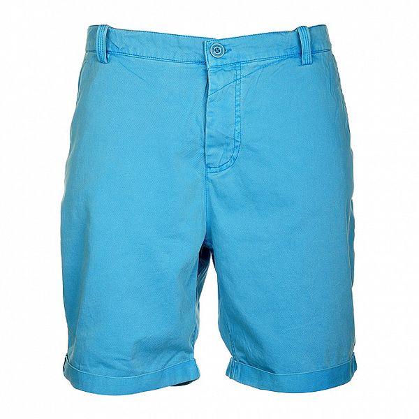 Pánské tyrkysově modré šortky Lee Cooper