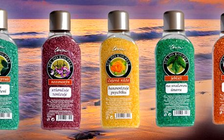 Speciální nabídka 3 balení ozdravných solí do koupele! Různé možnosti využití - léčivá koupel, lázeň, lázeň na ruce, lázeň na nohy atd... Vhodné pro všechny druhy pokožky!