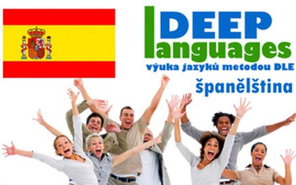 2×120 minut večerní španělštiny pro mírně pokročilé v Praze