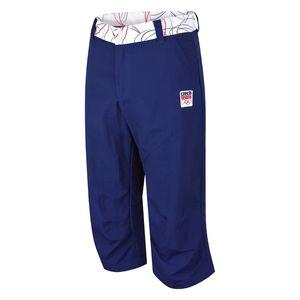 Pánské capri kalhoty Alpine Pro modré
