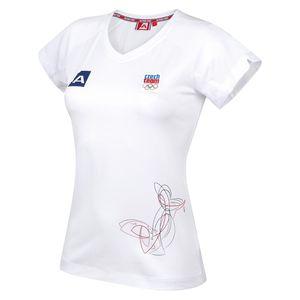 Dámské triko Alpine Pro bílé
