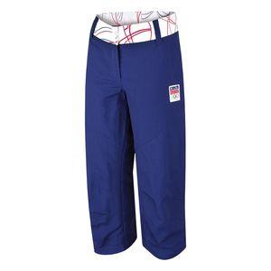 Dámské capri kalhoty Alpine Pro modré