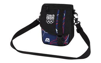 Taška přes rameno Alpine Pro modro-černá