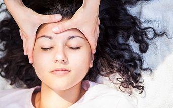 Exkluzivní antistresová masáž obličeje a dekoltu