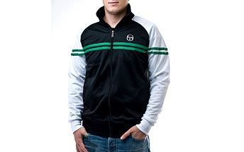 Pánská černo-bílá bunda Sergio Tacchini