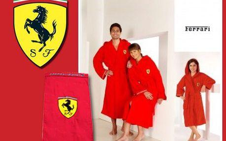 Luxusní osušky a župany Ferrari s doručením zdarma!