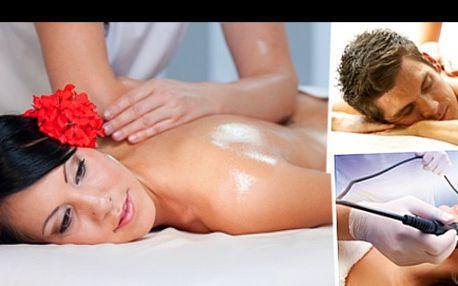 LUXUSNÍ BALÍČEK v RELAX CLUBU na Hradčanské se slevou 78 %: 90minutová péče v podobě vanilkové, čokoládové, kokosové nebo sportovně rekondiční masáže zad, krku a šíje + kosmetického ošetření vaší pleti. Dokonalá procedura vhodná pro ženy i muže.