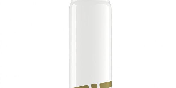 Lahev Sigg - NAT Gold 0,75 l - vyrobena speciální metodou z odlitku hliníku ve tvaru hokejového puku