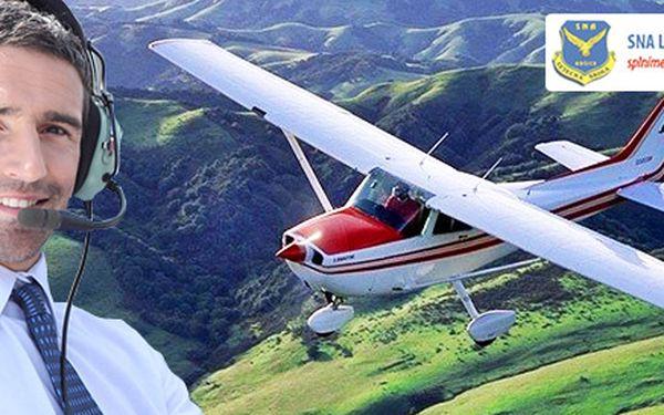 Zoznamovací let lietadlom VIPER SD 4 alebo CESSNA 172N