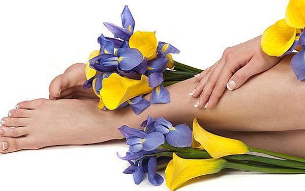 Mokrá pedikúra DELUXE - úprava a regenerace pokožky, nehtů, bublinková koupel a uvolňující masáž. Ukažte okolí své dokonalé nožky!
