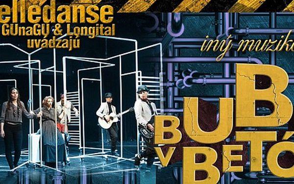 Vstupenka na netradičný muzikál BUBLINY V BETÓNE do divadla elledanse - 16. 6. 2013