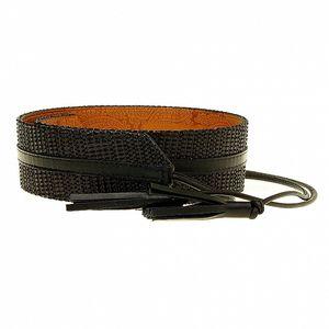 Dámský černý pásek Roberto Verino