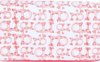 Dámská růžovo-bílá peněženka Roccobarocco
