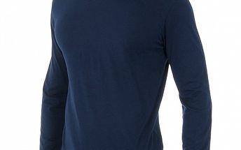 Tmavě modré triko Polo Ralph Lauren s dlouhým rukávem