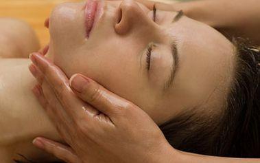 30 minutová relaxační masáž obličeje za skvělých 125 Kč!