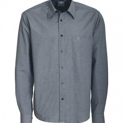 Pánská tmavě šedá košile Chico